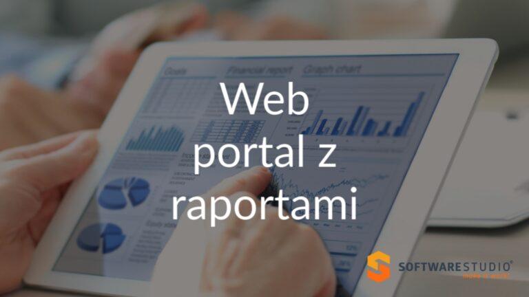 web portal z raportami