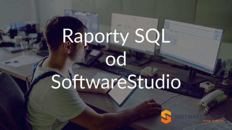 raporty sql softwarestudio