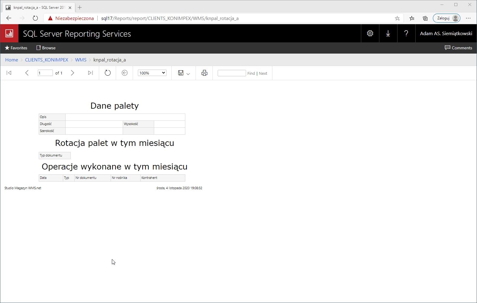 raporty sql server,zarządzanie zestawieniami,raporty sql server